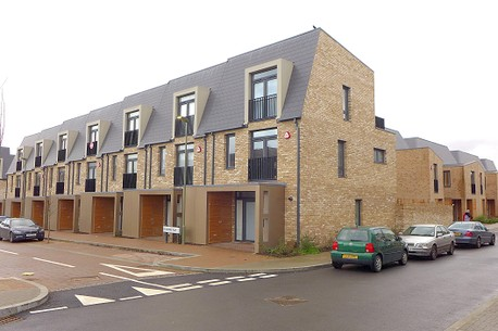 New terraced houses, Brook Valley Gardens, Barnet