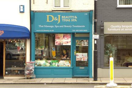 D and J Beauty and Thai Spa, Barnet