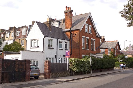 victorian house with large rear extension