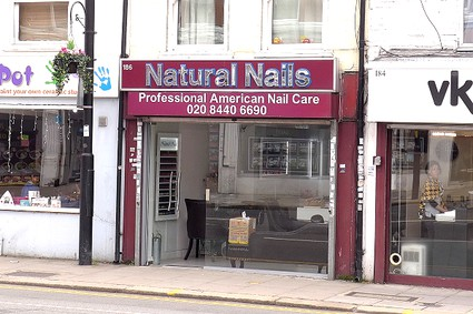 shop front natural nails