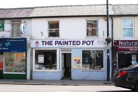 The Painted Pot shop exterior