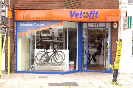 Velofit bike shop spinning classes