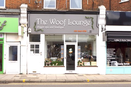 Woof Lounge doggie spa and boutique
